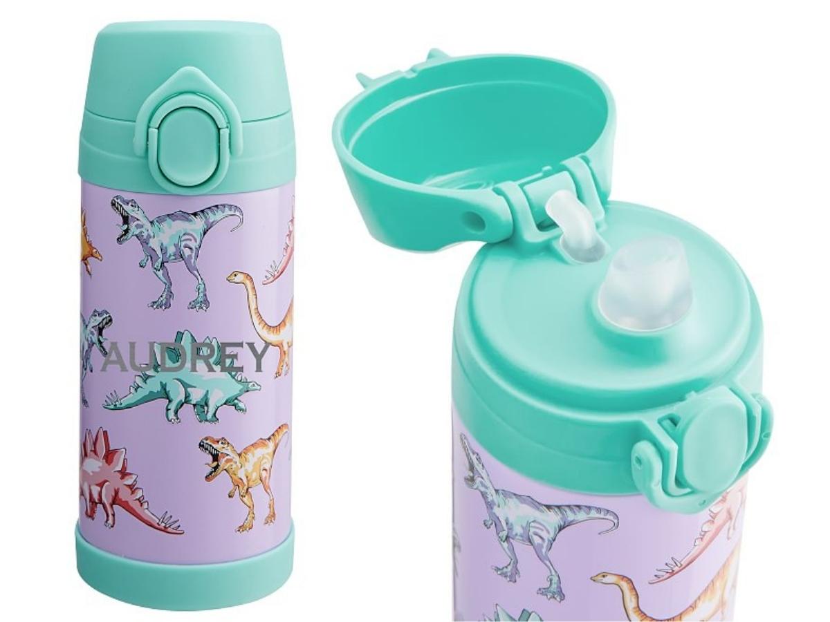 Pottery Barn Kids water bottles