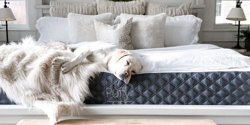 Get a Great Night of Sleep w/ a Highly Rated Puffy Mattress + Score $455 Worth of Free Gifts | Prices Start at $549