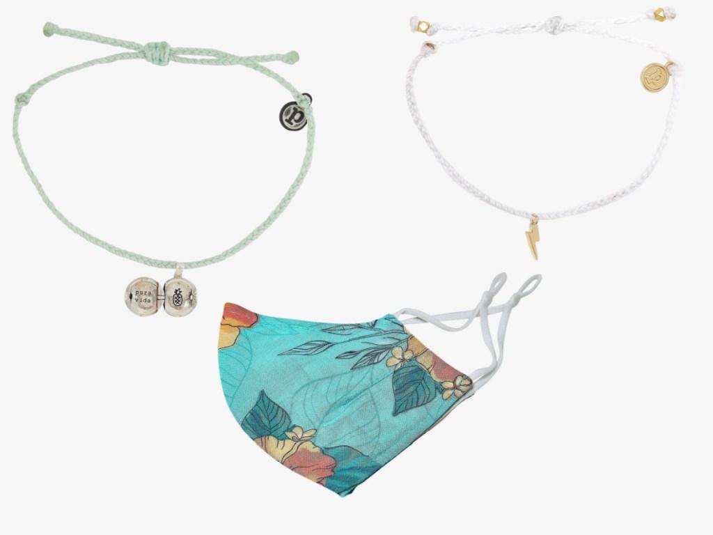 variety of Pura Vida accessories