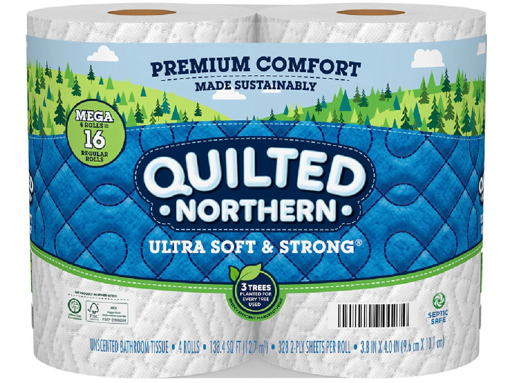 quilted northern 4 pack