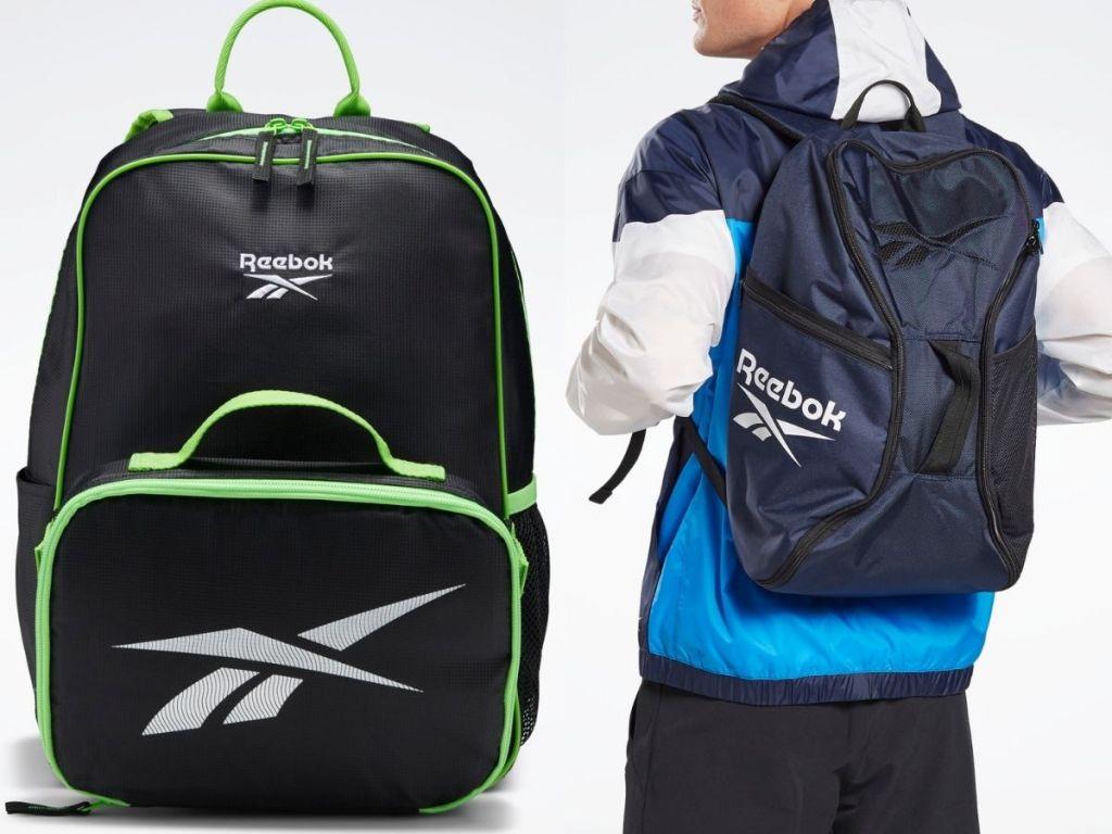 two reebok Backpacks