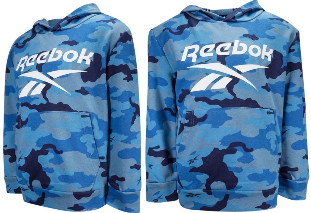 Reebok Boy's Camo Vector Hoodie