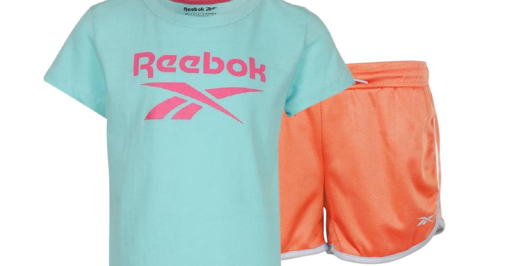 Reebok Shirt and Shorts