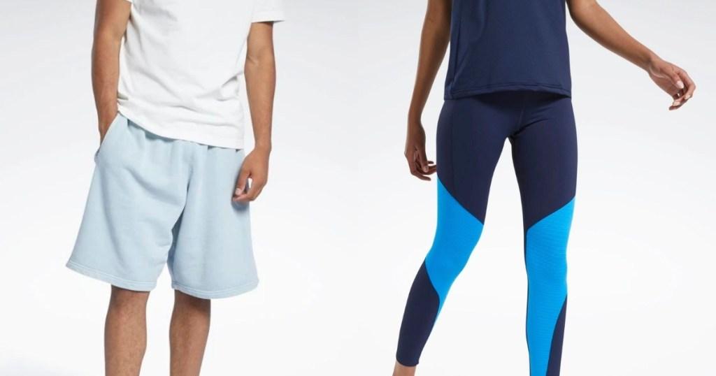 Reebok men's and women's apparel