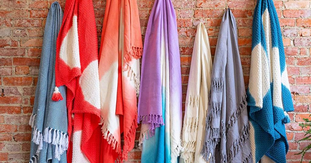 Refinery29 Premium Textured Throw Blankets