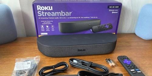 Roku Streambar Only $99.99 Shipped on BestBuy.com (Regularly $130) | Soundbar & Streaming Device All-in-One