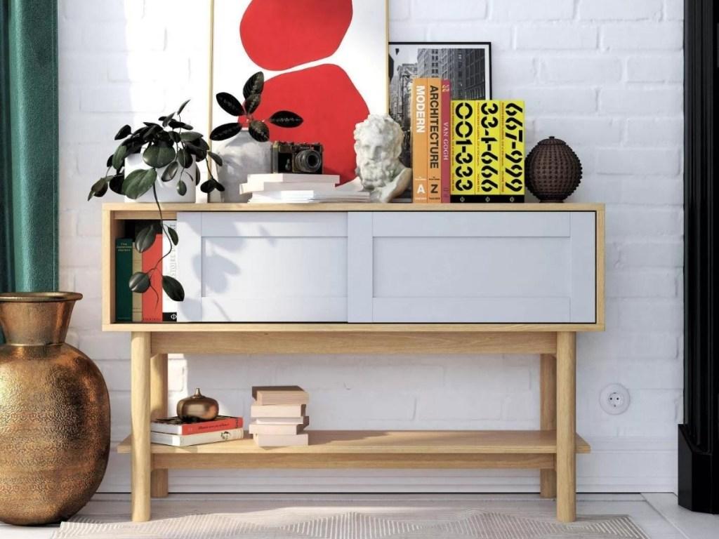 Room & Joy Wallie Wood Living Room Console