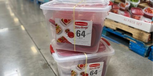 Over $3,000 in Instant Savings for Sam's Club Members | Rubbermaid 64-Piece Set Only $15.98