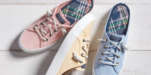 Sperry Shoes for the Family from $15.94 Each Shipped (Regularly $45)