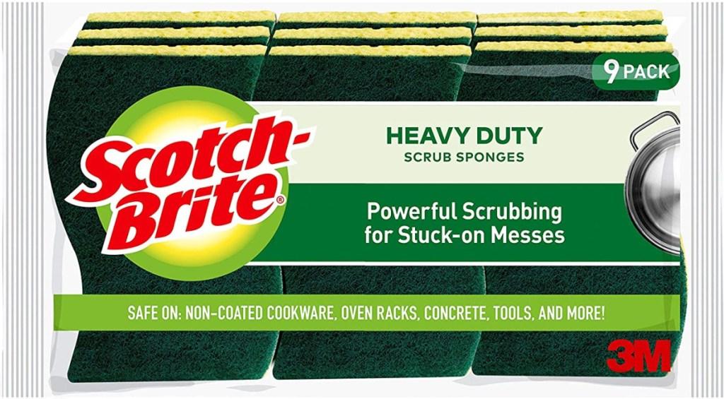 Scotch-Brite Non-Scratch Scrub Sponges 9 pack