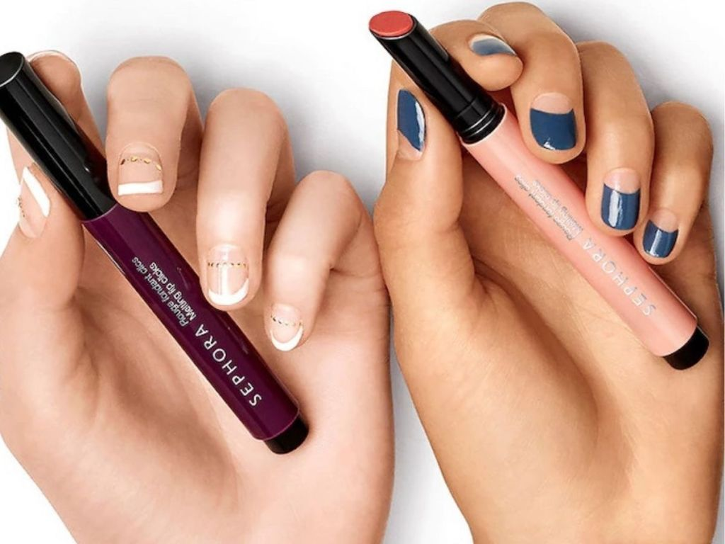 two sephora lipsticks