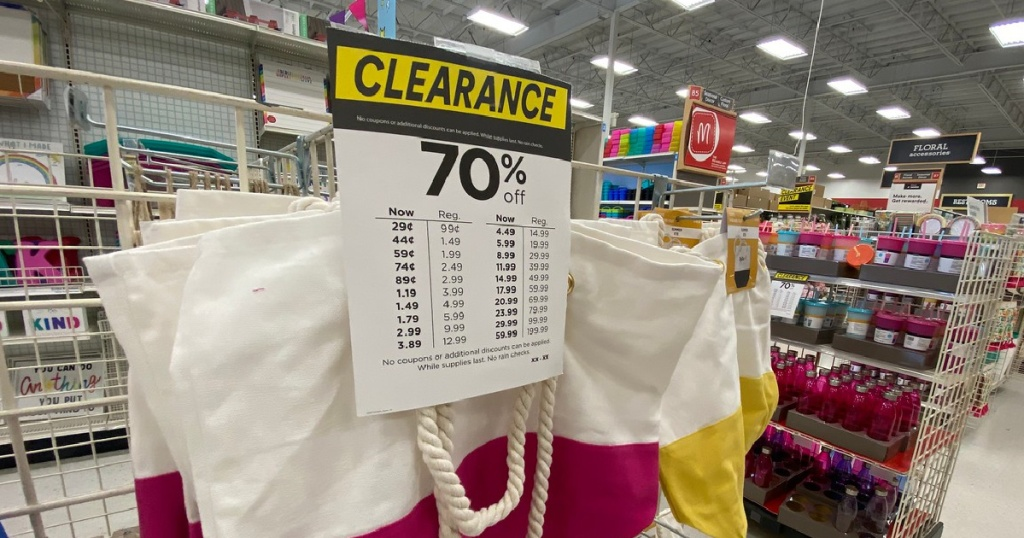 Summer Clearance Michaels