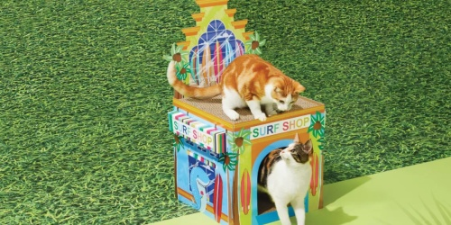 Surf Shop Two-Story Cat Scratcher Possibly Just $6 at Target (Regularly $20)