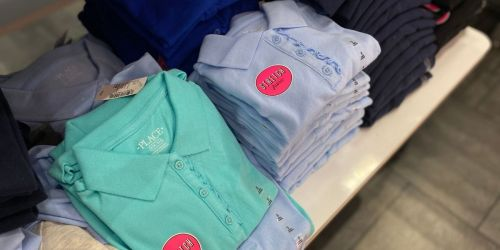The Children's Place School Uniform Polos from $4.99 Shipped (Regularly $10)
