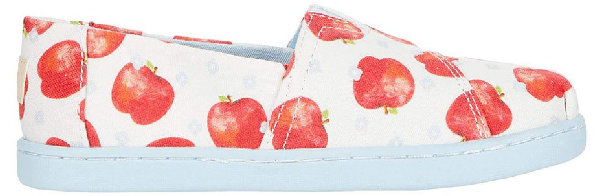 Apple Toms slip on shoes