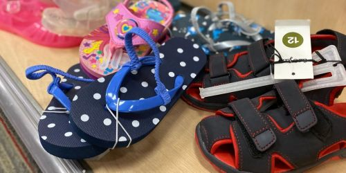 Kids Summer Sandals from $3 on Target.com | Tons of Cute Styles