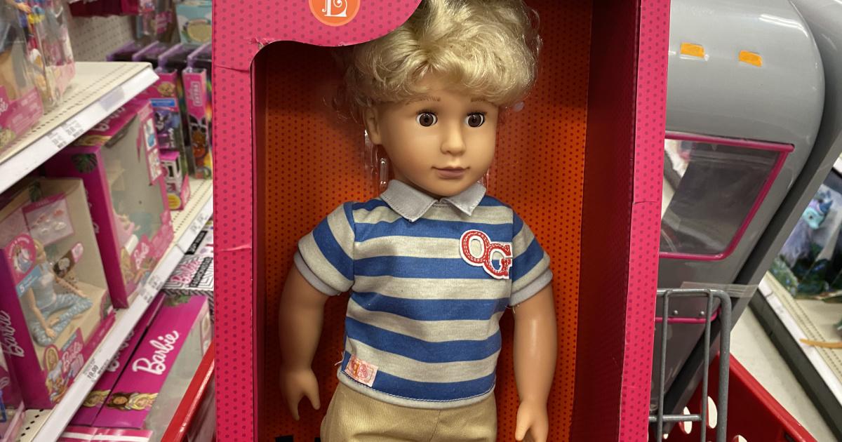 boy our generation doll
