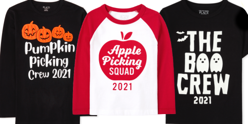 The Children's Place Fall & Halloween Apparel from $5 + Free Shipping