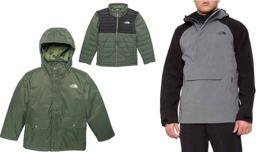 The North FaceKids Jacket and Men's Anorak