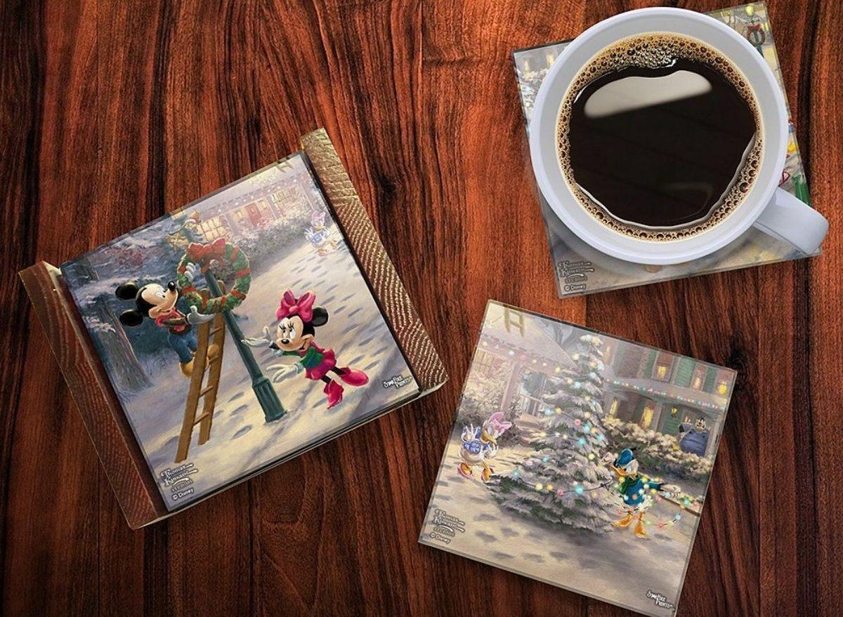 Thomas Kinkade Coaster Set