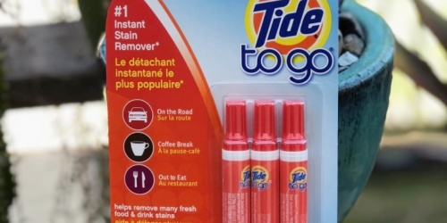 Tide To Go Stain Remover 3-Pack Only $4.54 Shipped on Amazon