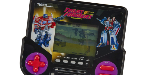 Transformers Handheld Electronic Game Only $6.46 on Amazon (Regularly $15)