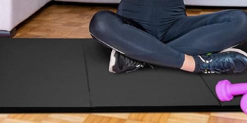 Tri-Fold Gym Mat w/ Handles Just $29.99 Shipped