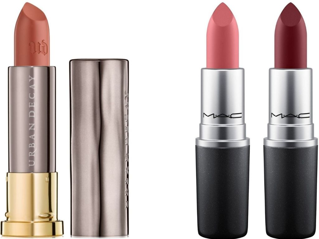 Urban Decay and MAC Lipsticks