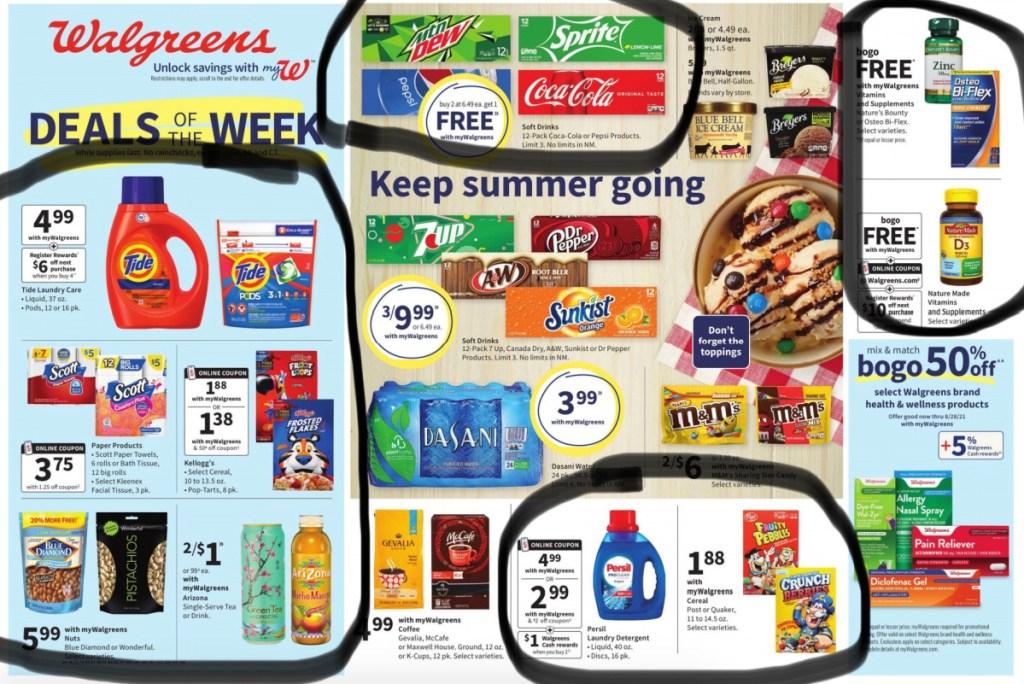 walgreens bext deals circled ad