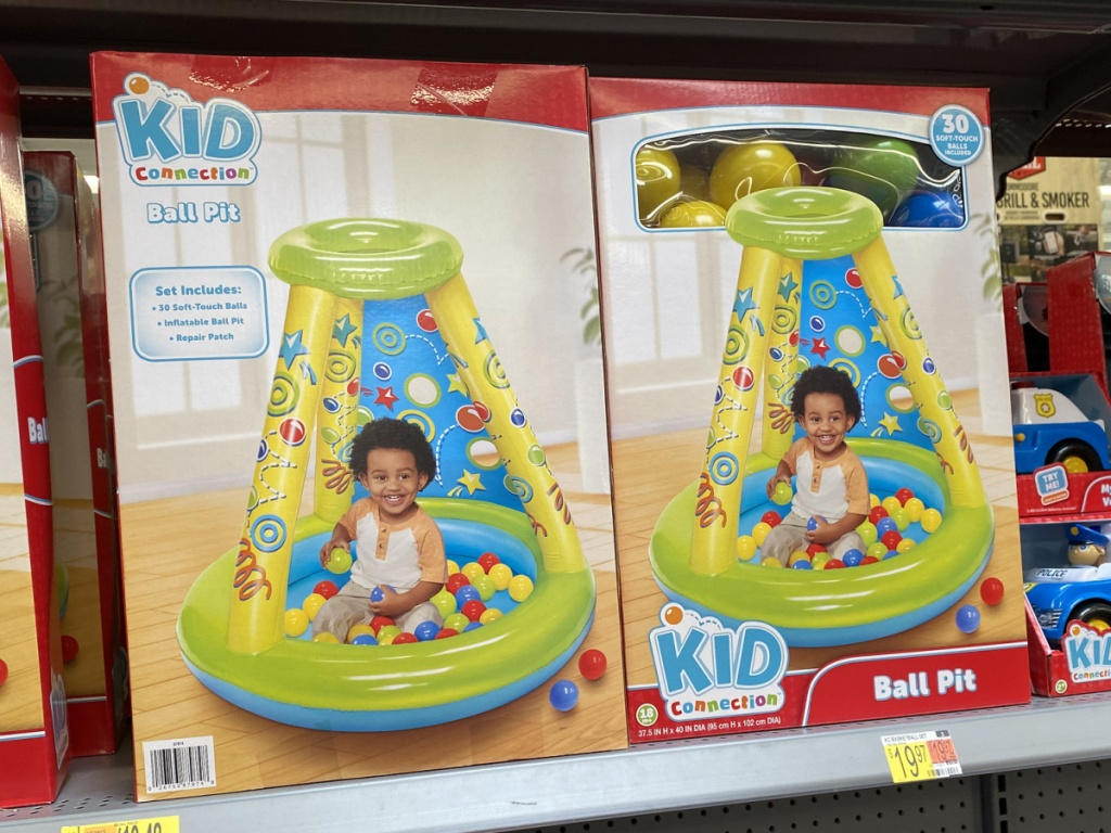 kid connection ball pit