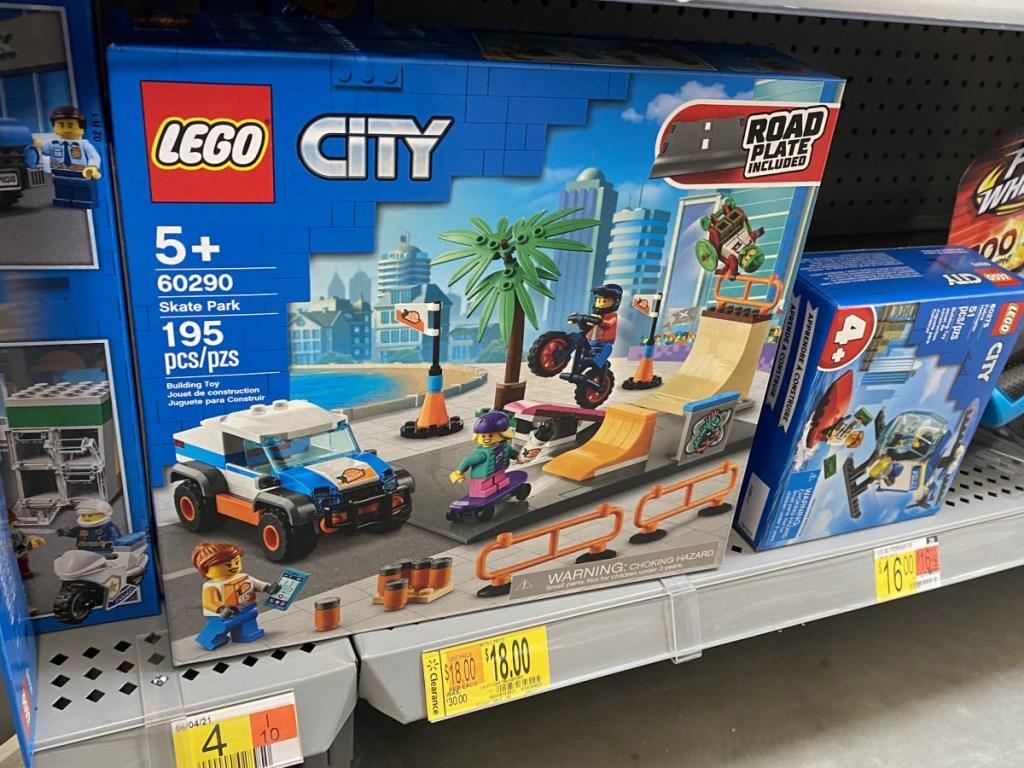 lego city skate board set