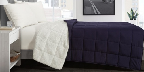 Reversible Sherpa Weighted Blanket Only $14.65 on Walmart.com (Regularly $54)