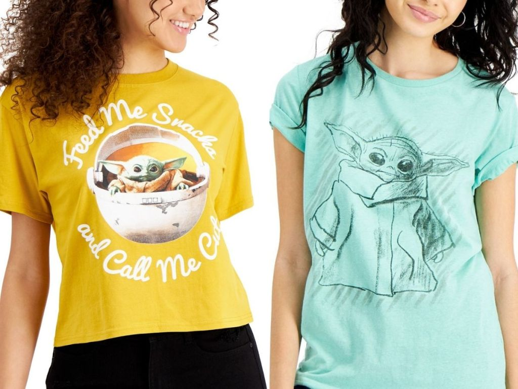 Women's Disney T-Shirts with Grogu
