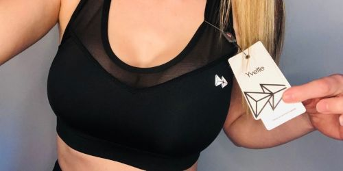 Lululemon Who? Comfy & Supportive Sports Bras from $16.99 Shipped (Regularly up to $40)   Includes Plus Sizes