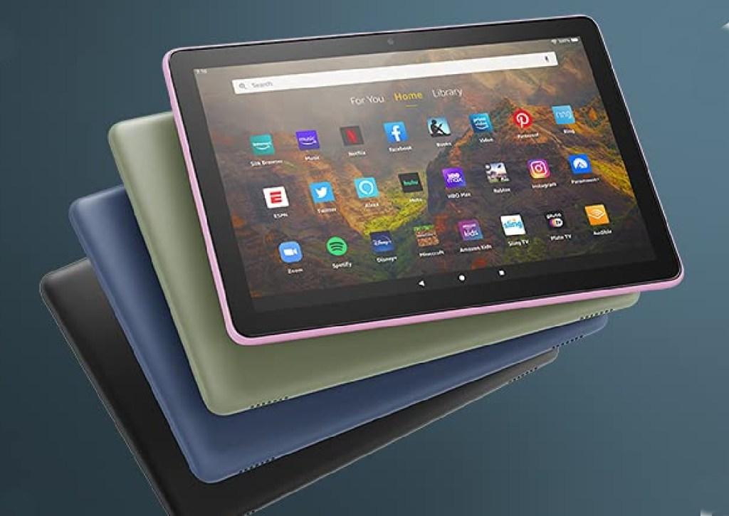 amazon fire hd 10 tablet multiple colors