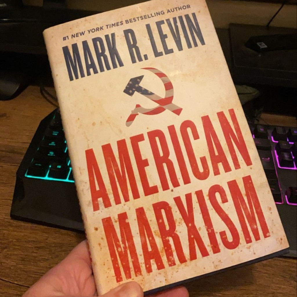 holding American Marxism book