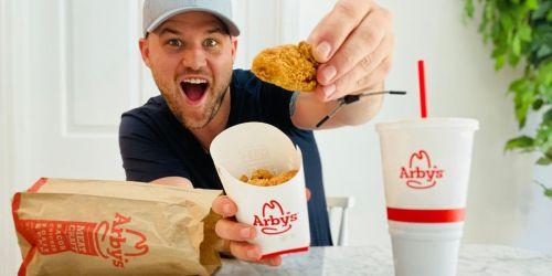 New Arby's 6-Piece Premium Chicken Nuggets Just $3 Each on Value Menu