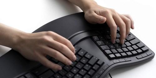 Microsoft Ergonomic Keyboard Just $39.99 Shipped on Amazon (Regularly $60) | Reduces Hand Fatigue