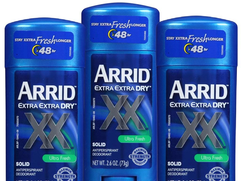 Arrid XX Extra Extra Dry Solid Antiperspirant Deodorant