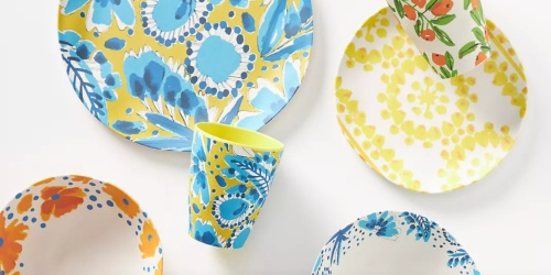 Extra 25% Off Anthropologie Sale Items = Summery Tumblers & Dinnerware from $3.71