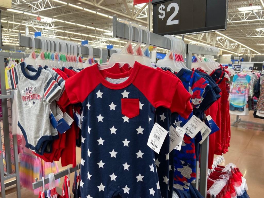 Baby Onesies at Walmart