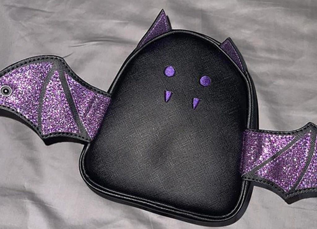 black bat cosmetics bag bath and body works halloween