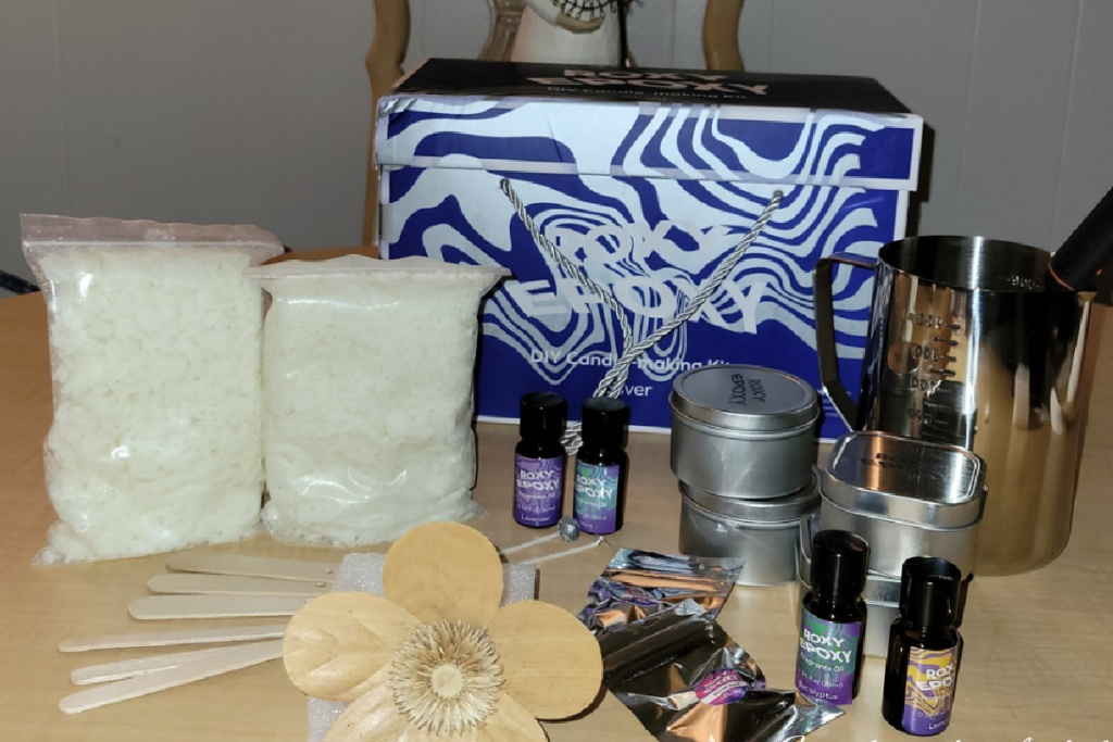 candle making kit silver