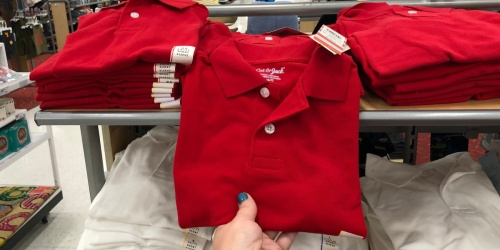 Cat & Jack Uniform Polos from $2.80, Pants from $7 at Target | Backed by 1-Year Guarantee