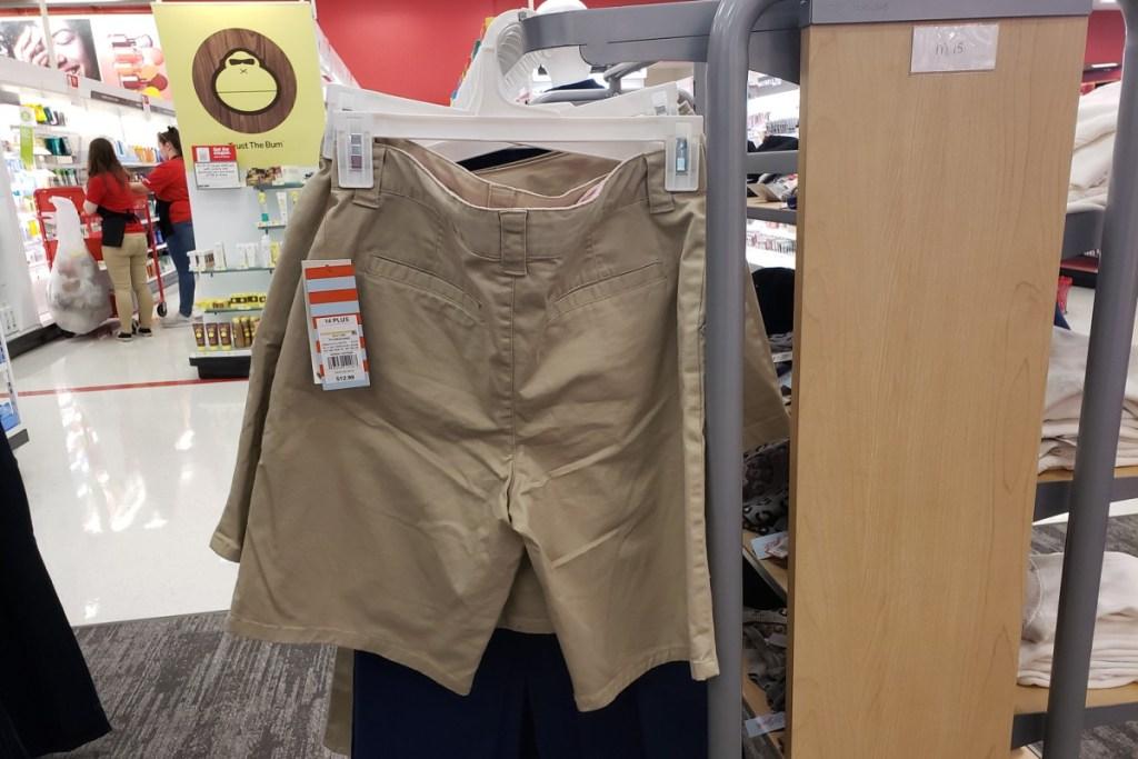 cat & jack uniform shorts
