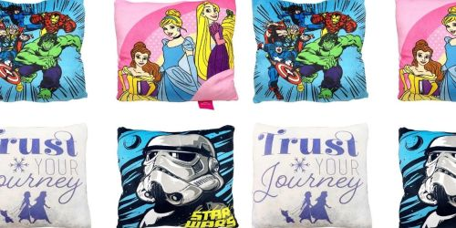 Disney & Marvel Squishy Character Pillow 2-Packs Only $8.99 on Macys.com (Regularly $30)