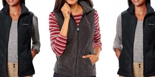 Columbia Women's Fleece Vest Only $13.50 on Amazon (Regularly $45)