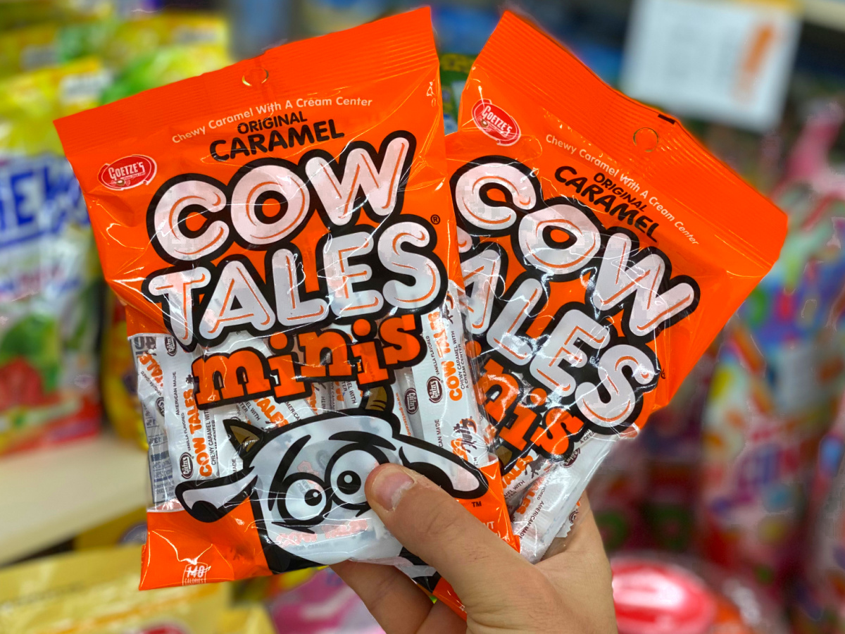 holding cow tales candy 90s snacks