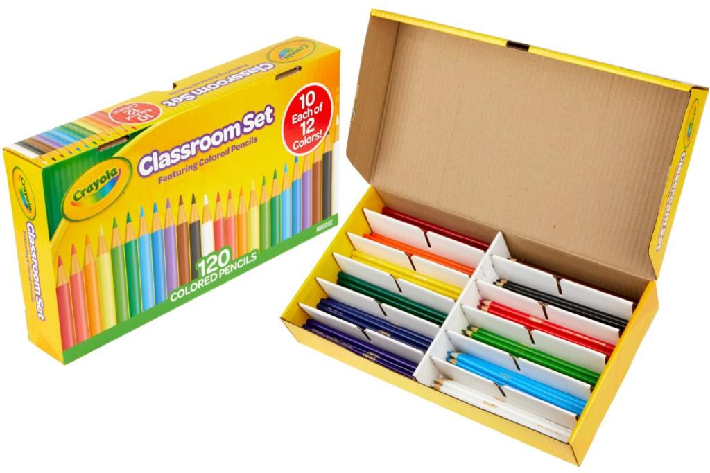 crayola classpack colored pencils