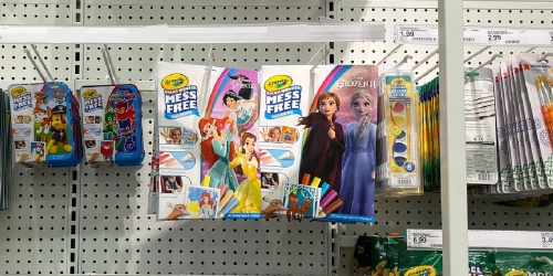 Crayola Disney Frozen II Color Wonder Coloring Book & Markers Set Just $3.47 on Walmart.com (Regularly $8)